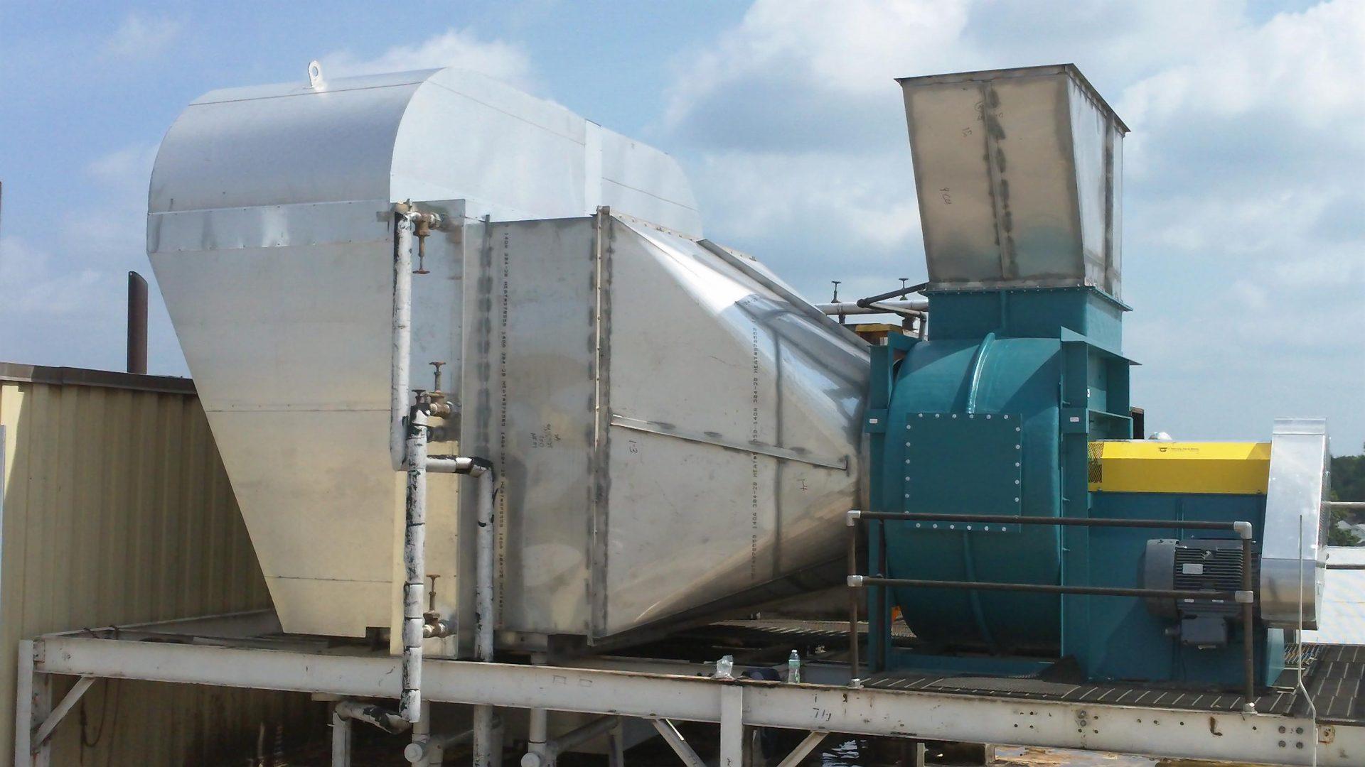 BCSF - Paper Machine Exhaust