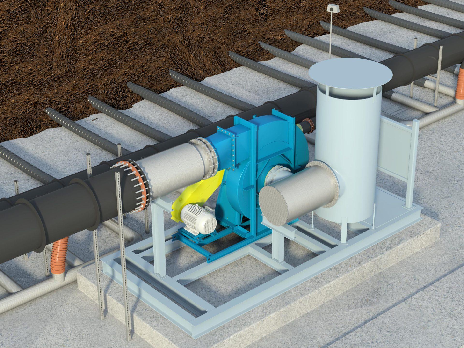 BCN Arr.1 Air Blower Landfill