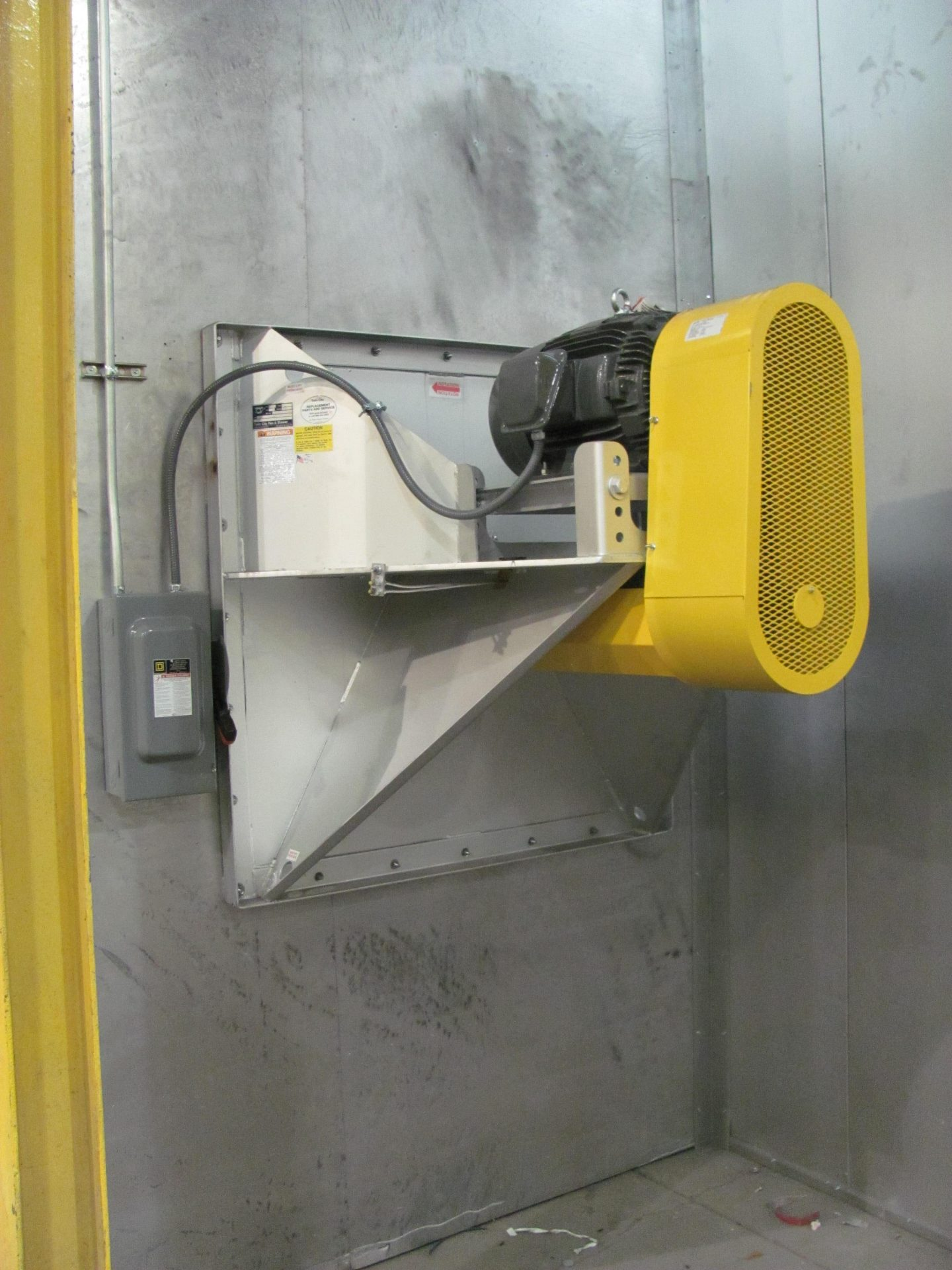 BEPL Plug Fan - Paint Booth