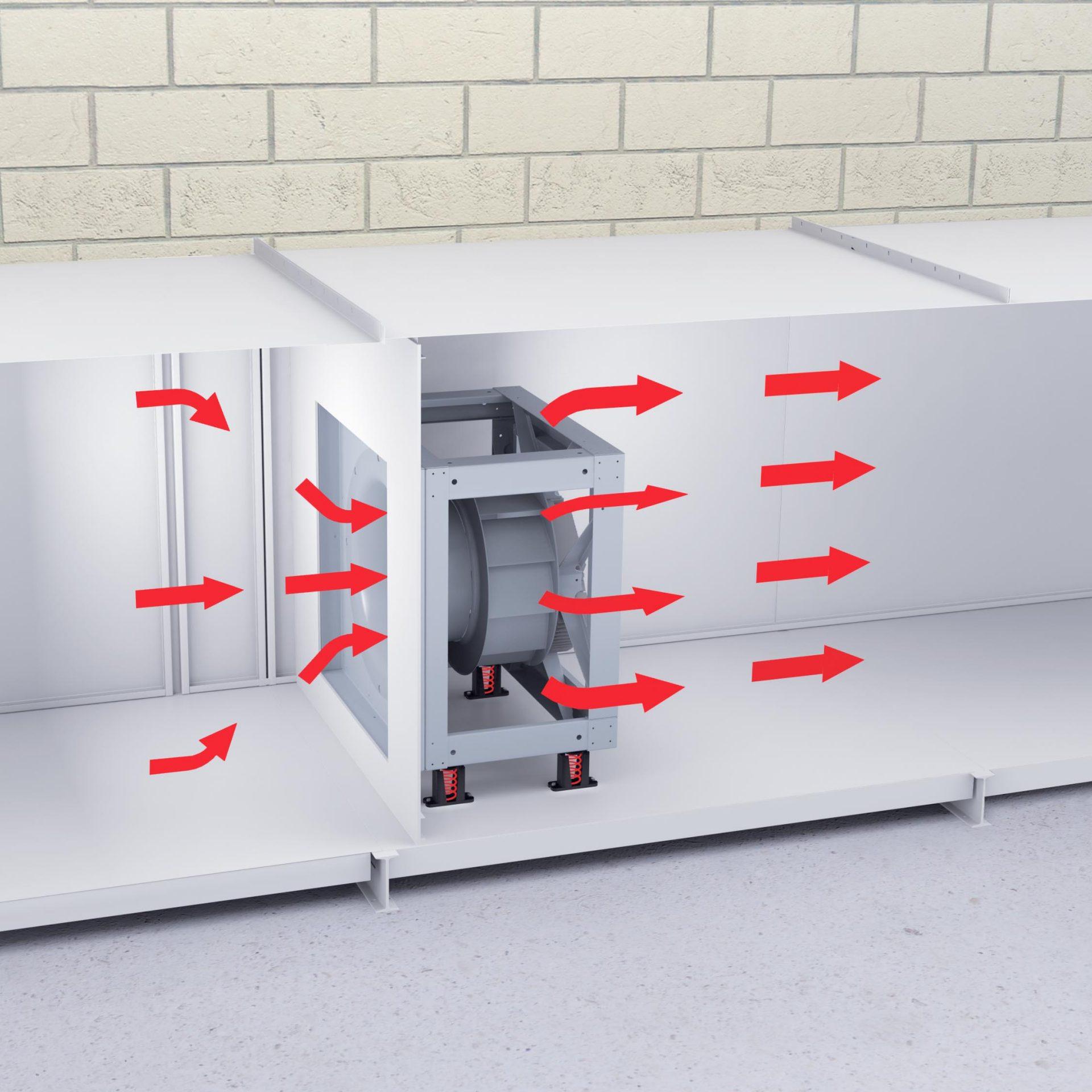 ECLFN Plenum (Airflow)